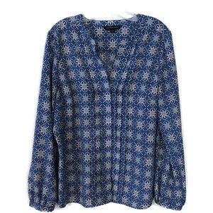 "3/$15 Brooks Brothers ""346"" blouse plus-size"